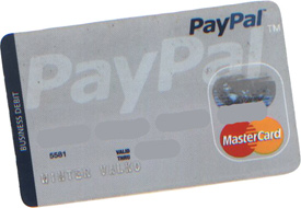 winter's paypal card